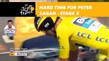 Hard time for Peter Sagan - Étape 3 / Stage 3 - Tour de France 2018