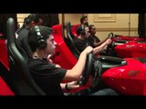 Nissan GT Academy Simulator Testing | AutoMotoTV