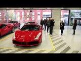 Four tennis legends visit Maranello enjoyed a spin in the Ferrari California T | AutoMotoTV
