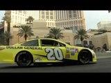NASCAR Drives Into Las Vegas with a Burnout on the Las Vegas Strip | AutoMotoTV