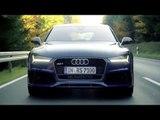 Audi RS 7 Sportback performance - Driving Video   AutoMotoTV