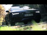 Audi RS 7 Sportback performance - Slow Motion   AutoMotoTV