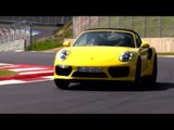 Porsche 911 Turbo Cabriolet - Racing Yellow Driving Video | AutoMotoTV