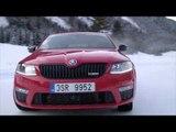 SKODA model range 4x4 Winter Discovery SKODA OCTAVIA COMBI RS 4x4 | AutoMotoTV