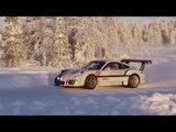 Porsche Driving Experience Winter in Levi, Finland | AutoMotoTV