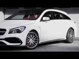 The new Mercedes-AMG CLA 45 4MATIC Shooting Brake Design Trailer | AutoMotoTV