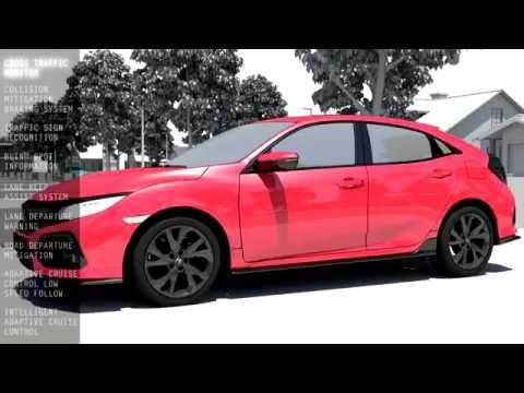 2017 Honda Civic – Honda Sensing | AutoMotoTV