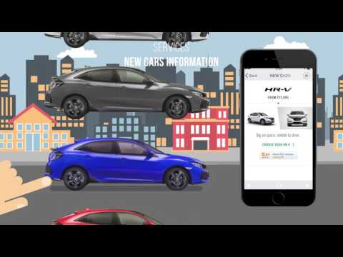 2017 Honda Civic – My Honda App | AutoMotoTV