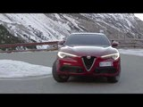 Alfa Romeo Stelvio Driving in the Country | AutoMotoTV