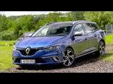 The New Renault Megane Estate GT Exterior Design  in Blue Trailer   AutoMotoTV