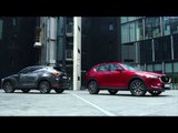 All-New Mazda CX-5 - Exterior Design in Soul Red Crystal and Machine Grey | AutoMotoTV