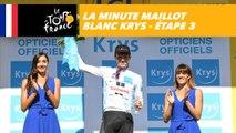 La minute Maillot Blanc Krys - Étape 3 - Tour de France 2018