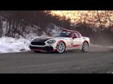 The new Abarth 124 Rally to debut in the 85th Monte Carlo Rally | AutoMotoTV