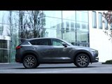All-New Mazda CX-5 - Exterior Design in Machine Grey Trailer | AutoMotoTV