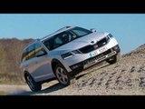 SKODA OCTAVIA SCOUT Offroad Driving Trailer | AutoMotoTV