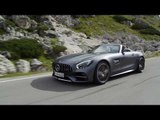 50 years of Mercedes-AMG - Mercedes-AMG GT C Roadster Driving Video | AutoMotoTV