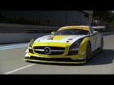 50 years of Mercedes-AMG - Mercedes-AMG SLS GT3 Driving Video | AutoMotoTV