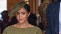 Meghan Markle Looks Stylish At Prince Louis' Christening