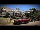 2018 Nissan Pathfinder Rear Door Alert Review | AutoMotoTV