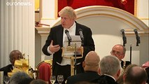 Le ministre des Affaires étrangères britannique Boris Johnson démissionne