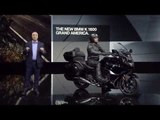 The new BMW K 1600 Grand America at 2018 Detroit Motor Show