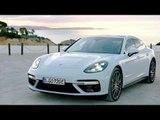 Porsche Panamera Turbo S E-Hybrid Sport Turismo in Carrara White Metallic Design Hybrid Trackdays