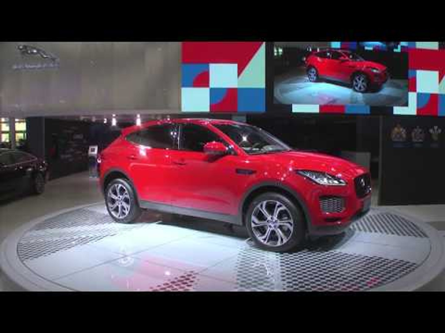 Reveal of Jaguar E-PACE at the 2018 Beijing Motor Show
