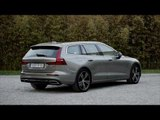 New Volvo V60 T6 Inscription Pebble Grey Design