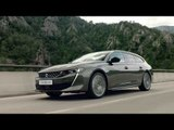 The all-new PEUGEOT 508 SW Driving Video