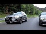 "Alfa Romeo Giulia and Stelvio ""NRING"" - Showcases of Alfa Romeo Excellence"