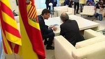 Madrid y Cataluña retoman diálogo con posiciones muy alejadas