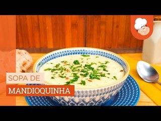 Sopa de mandioquinha — Receitas TudoGostoso
