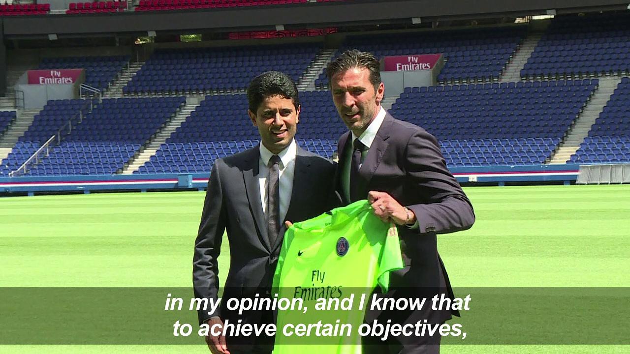 Football: Buffon says no PSG promise of starting slot