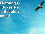 Alef Elegant Decorative Themed Nesting Gift Boxes 6 Boxes Nesting Boxes Beautifully