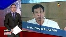 Pres. #Duterte, makikipagpulong kay Malaysian PM Mahathir Mohamad