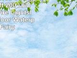 Solar Powered String Lights 66ft 200 LED Copper Wire LightsIndoor Outdoor Waterproof
