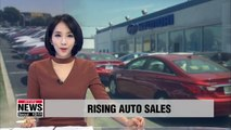 South Korean automakers Hyundai Motor and Kia Motors saw record sales figures in the first half of this year in the German car market.    According to data from the German auto industry association,.... the Korean carmakers sold more than 92-thousand cars