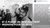 PHOTO. Justin Bieber confirme ses fiançailles avec Hailey Baldwin par un touchant message sur Instagram