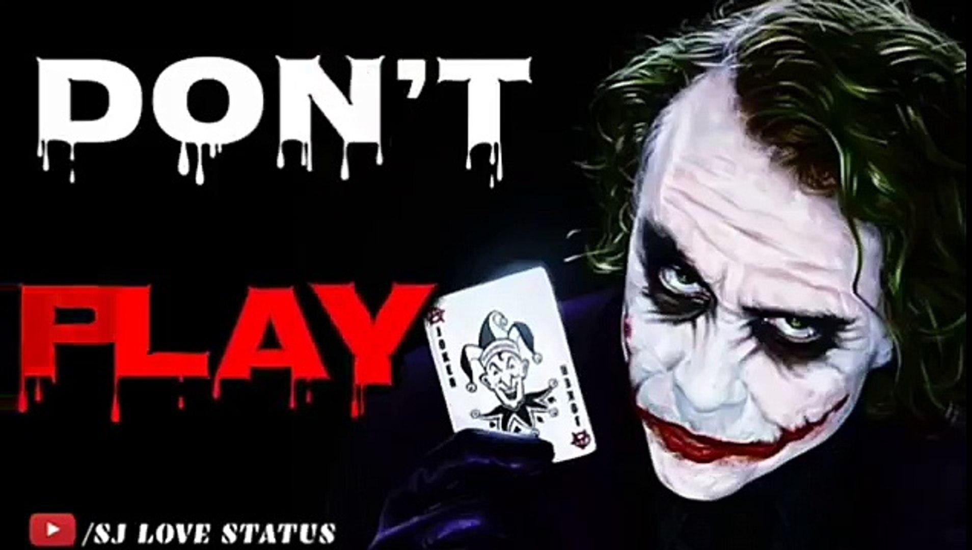 Boys Attitude Whatsapp Status Joker Attitude 30 Se