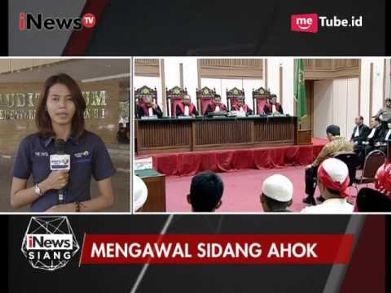 Hakim Sempat Meminta JPU Untuk Menyelesaikan Tuntutan Pada Hari Ini - iNews Siang 11/04