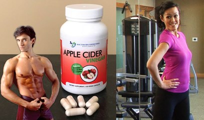 APPLE CIDER VINEGAR CAPSULES & ACHIEVING WEIGHT LOSS SUCCESS | Fit Now with Basedow