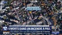 """Cinq morts dans un incendie à Pau: la piste du """"drame familial"""" privilégiée"""