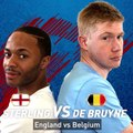STERLING VS KEVIN DE BRUYNE IN FIFA 18 WORLD CUP! (ENGLAND VS BELGIUM!)
