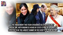 Meghan Markle and Prince Harry are reportedly line Meghan to replace Kate at Commonwealth meeting