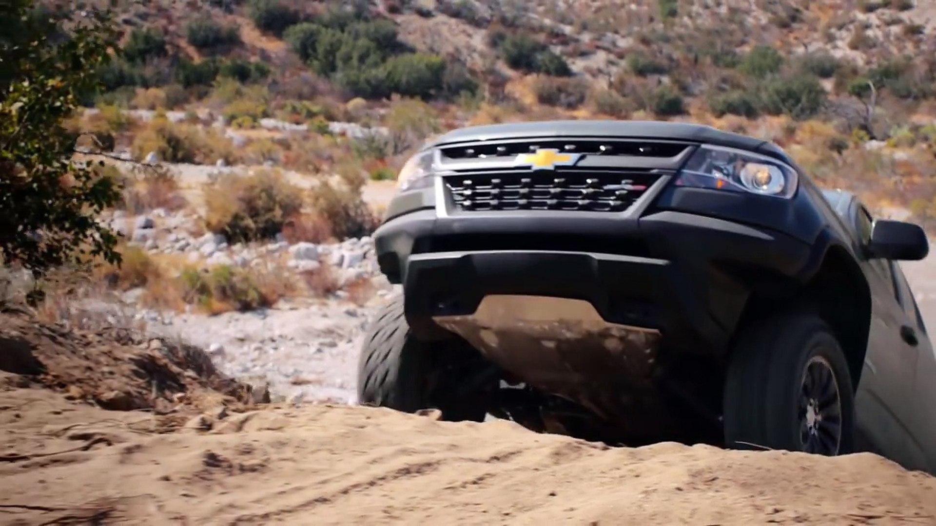 VÍDEO: así se las gasta el Chevrolet Colorado ZR2, ¡qué animal!