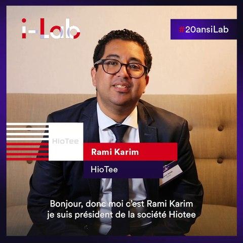 [Les lauréats en boite] Rami Karim, fondateur de HIoTee