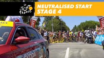 Départ fictif / Neutralised start - Étape 4 / Stage 4 - Tour de France 2018