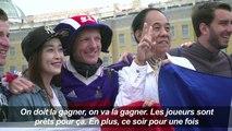Mondial/France-Belgique : les supporters prêts pour le choc