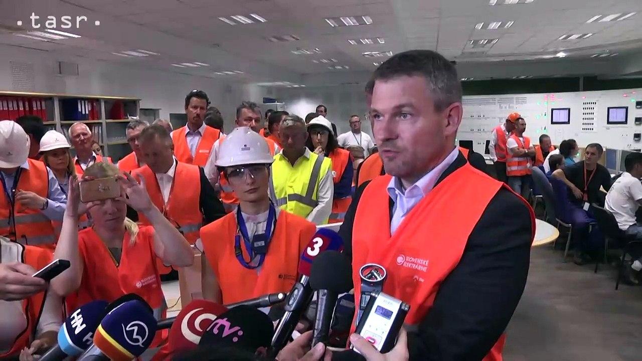 P. Pellegrini o dostavbe Jadrovej elektrárne Mochovce