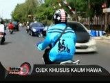 Ojek Khusus Kaum Hawa Di Surabaya, Jawa Timur - iNews Petang 14/08